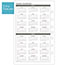 """AT-A-GLANCE® Day Runner® Monthly Planning Pages, 5 1/2"""" x 8 1/2"""", 2022 Thumbnail 4"""
