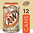 A&W Diet Root Beer, 12 oz. Can, 12/PK Thumbnail 5