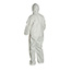 DuPont® ProShield® 60 Hooded Coveralls, Elastic Wrists and Ankles, White, 4X-Large, 25/CS Thumbnail 2