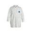 DuPont® Tyvek® 400 Collared Frock, Open Wrists, White, 2X-Large, 30/CS Thumbnail 1