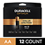 Duracell® Optimum Alkaline Batteries, AA, 12/PK Thumbnail 1