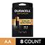 Duracell® Optimum Alkaline Batteries, AA, 8/PK Thumbnail 1