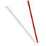 """Dixie® Wrapped Giant Straws, 10-1/4"""", Polypropylene, Red, 300/Box, 4 Boxes/CT Thumbnail 2"""