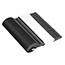 "Dixie® SmartStock Ultra® Black Heavyweight Polystyrene Multi-Purpose Spoon Refill, 6"", 960/CT Thumbnail 4"