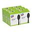 Dixie® Grab N Go Wrapped Cutlery, Teaspoons, Black, 90/Box, 6 Boxes/CT Thumbnail 4