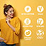 Eat Your Coffee® Salted Caramel Macchiato Caffeinated Energy Bar, 15/BX Thumbnail 2