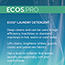 Earth Friendly Products ECOS® PRO 2X Laundry Detergent,  Free & Clear, 170 oz. Thumbnail 6
