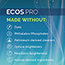 Earth Friendly Products ECOS® PRO 2X Laundry Detergent,  Free & Clear, 170 oz. Thumbnail 4