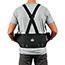 ergodyne® ProFlex® 1625 S Black Elastic Back Support Brace Thumbnail 3