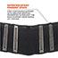 ergodyne® High-Performance Back Support, Black, L Thumbnail 3