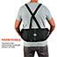 ergodyne® ProFlex® 100 Black Economy Back Support, XL Thumbnail 3