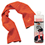 ergodyne® Chill-Its® 6602 Evaporative Cooling Towel, Orange Thumbnail 1