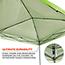 ergodyne® Shax® 6010 Lightweight Tent,  10' X 10', Hi-Vis Lime Thumbnail 3