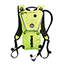 ergodyne® Chill-Its® 5156 3 ltr Hi-Vis Lime Premium Low Profile Hydration Pack Thumbnail 1