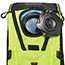 ergodyne® Chill-Its® 5156 3 ltr Hi-Vis Lime Premium Low Profile Hydration Pack Thumbnail 2