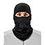 ergodyne® N-Ferno® 6823 Balaclava Face Mask - Wind-Proof, Hinged Design, Black Thumbnail 4