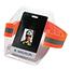 ergodyne® Squids® 3386 Hi-Vis Orange Arm Band ID/Badge Holder Thumbnail 1
