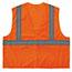 ergodyne® Glowear® 8205Hl Type R Class 2 Super Econo Mesh Vest, Large/X-Large, Hi-Vis Orange Thumbnail 3