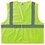 ergodyne® Glowear® 8205Hl Type R Class 2 Super Econo Mesh Vest, Small/Medium, Hi-Vis Lime Thumbnail 1