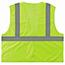 ergodyne® Glowear® 8205Hl Type R Class 2 Super Econo Mesh Vest, Small/Medium, Hi-Vis Lime Thumbnail 2