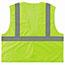 ergodyne® GloWear 8205HL Type R Class 2 Super Econo Mesh Safety Vest, Lime, Large/X-Large Thumbnail 3