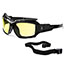 ergodyne® Loki Yellow Lens Safety Glasses, Black Thumbnail 3