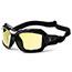 ergodyne® Loki Yellow Lens Safety Glasses, Black Thumbnail 2