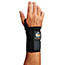 ergodyne® ProFlex® 4010 L-Right Black Double Strap Wrist Support Thumbnail 1