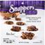 Snappers® Minis, Dark Chocolate Sea Salt and Caramel Pretzel Treats, 3 oz., 6/CS Thumbnail 1