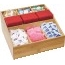 """Mind Reader Square, Bamboo Break Room Caddy, 9 Compartments, 12""""w x 12""""d x 5 1/2""""h Thumbnail 1"""