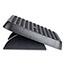 Fellowes® Standard Footrest, Adjustable, 17 5/8w x 13 1/8d x 3 3/4h, Graphite Thumbnail 3