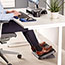 Fellowes® Standard Footrest, Adjustable, 17 5/8w x 13 1/8d x 3 3/4h, Graphite Thumbnail 2