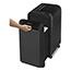 Fellowes® LXP-300M 20-Sheet Micro-Cut Shredder, 20 Manual Sheet Capacity, Black Thumbnail 2