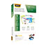 Fellowes® Laminating Pouches, Letter Size, Hot Pouch, 9 x 11.5, 5 mil, 200 pack Thumbnail 2
