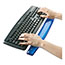 Fellowes® Gel Crystals Keyboard Wrist Rest, Blue Thumbnail 2