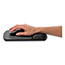 Fellowes® Wrist Support with Microban Protection, Graphite/Black Thumbnail 3