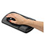 Fellowes® Wrist Support with Microban Protection, Graphite/Black Thumbnail 2