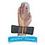 Fellowes® Memory Foam Wrist Rest w/Attached Mouse Pad, Black Thumbnail 2