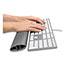 Fellowes® I-Spire Keyboard Wrist Rocker Wrist Rest, 18 1/4 x 2 9/16 x 1 1/8, Gray Thumbnail 3
