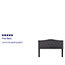 Flash Furniture Cambridge Tufted Upholstered Queen Size Headboard in Dark Gray Fabric Thumbnail 2