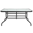 "Flash Furniture Table, Tempered Glass/Metal, 31.5"" x 55"" Thumbnail 5"