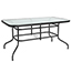 "Flash Furniture Table, Tempered Glass/Metal, 31.5"" x 55"" Thumbnail 1"