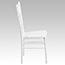 Flash Furniture HERCULES Series White Wood Chiavari Chair Thumbnail 6