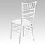 Flash Furniture HERCULES Series White Wood Chiavari Chair Thumbnail 5