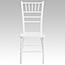 Flash Furniture HERCULES Series White Wood Chiavari Chair Thumbnail 4