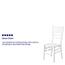 Flash Furniture HERCULES Series White Wood Chiavari Chair Thumbnail 2