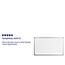 Flash Furniture 5' W x 3' H Magnetic Marker Board Thumbnail 2