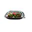 Fineline® Dome Lid For Large Square Bowls PET, Clear, 150/CS Thumbnail 1