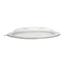 Fineline® Dome PET Lid - Fits 32 oz. Salad Bowl, Clear, 100/CS Thumbnail 1