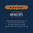 1850 Coffee, Black Gold, Dark Roast Ground, 12 oz. Bag, 6/CT Thumbnail 2